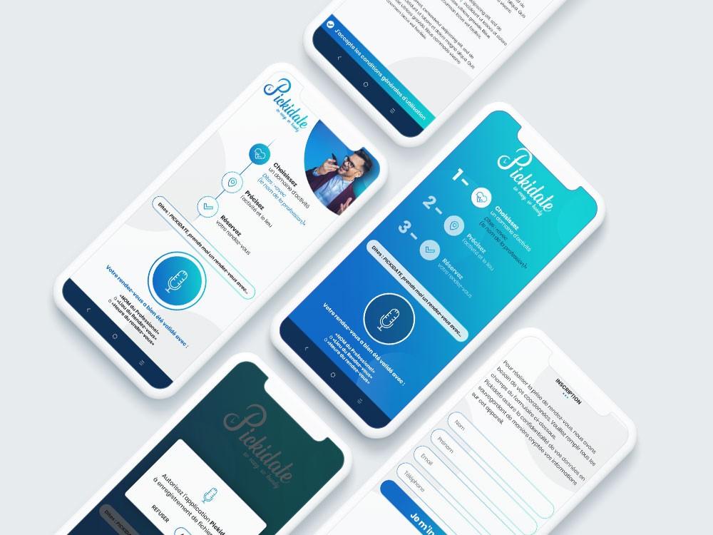 Design d'application à commande vocale