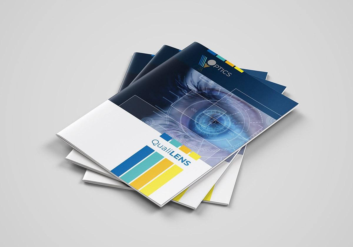 couverture création de brochure technologie industrielle
