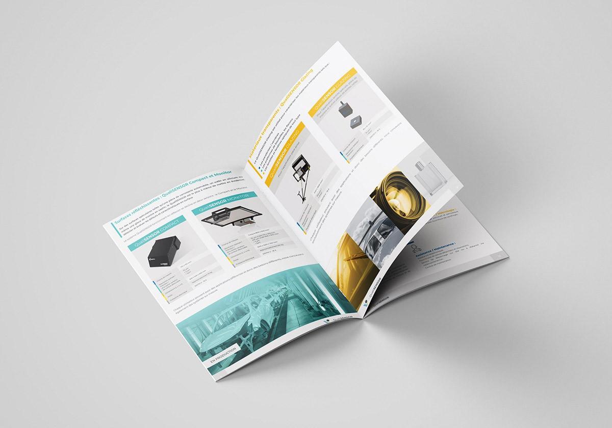 graphisme brochure commerciale