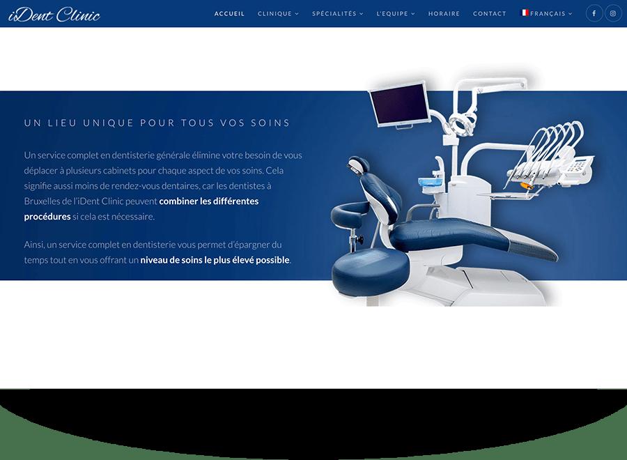 Création identité visuelle cabinet dentaire