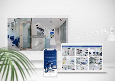 Identité visuelle cabinet de dentisterie
