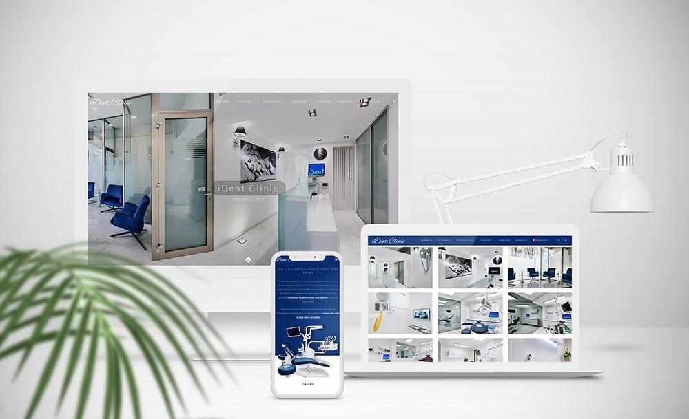 Création de site internet pour dentiste
