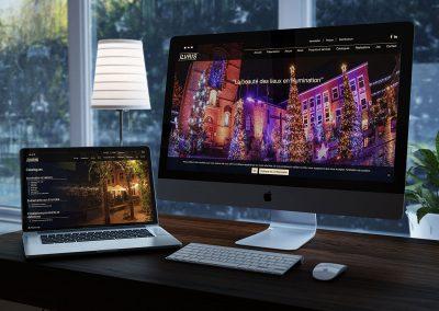 Refonte site internet illumination et décor