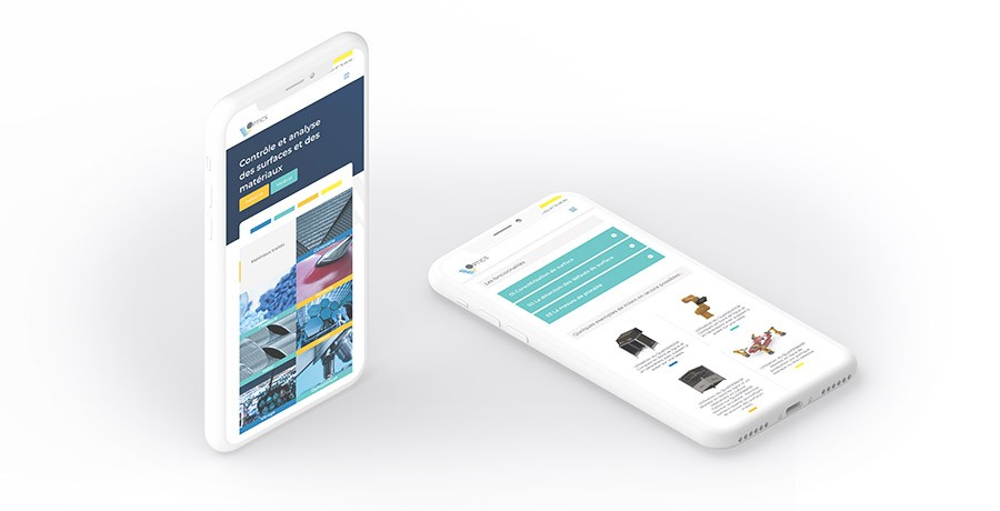 Création site responsive version mobile