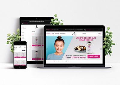 Design site e-commerce 2one