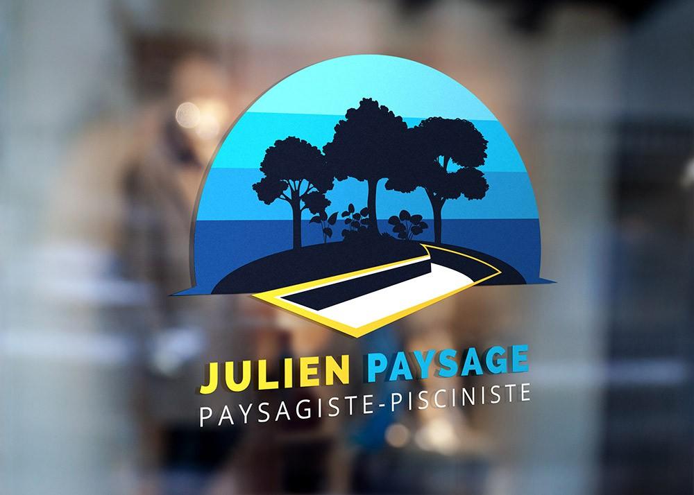 Création de logo fabrication de piscine