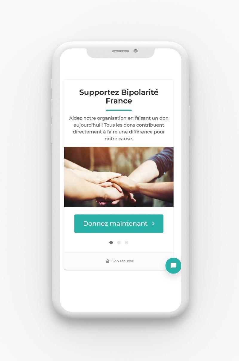 création système de donation en ligne