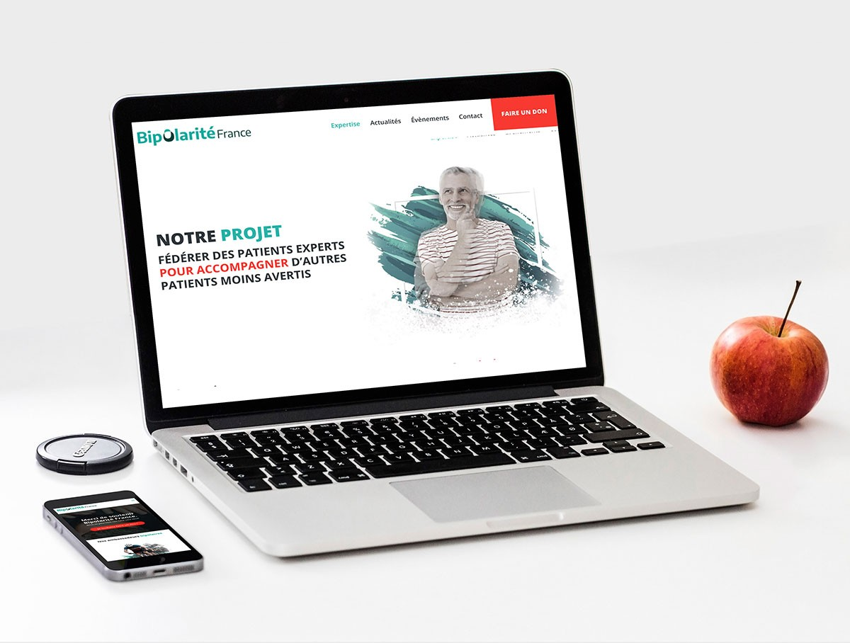 Webdesign page expertise médicale