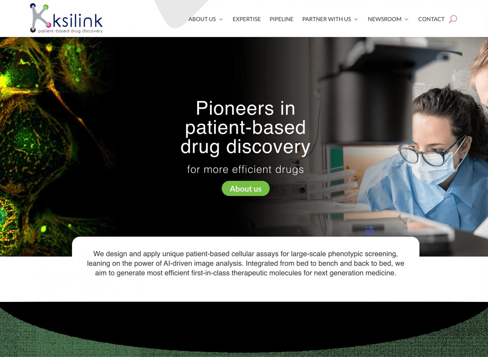 Design de site internet d'association de recherche médicale