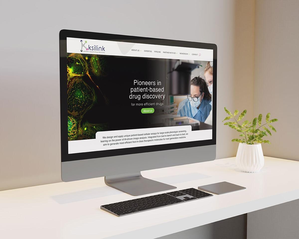 Homepage du site ksilink