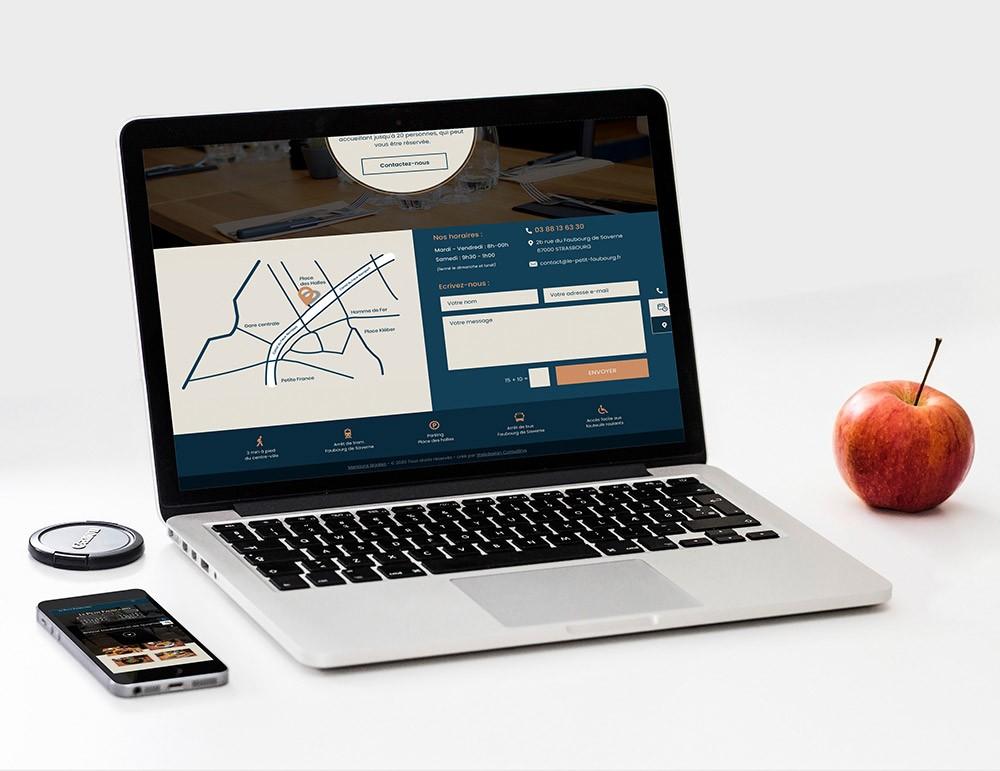 Graphiste webdesigner spécialisé pour restaurant